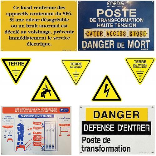 AFFICHAGE RÉGLEMENTAIRE POSTE DP - C13100 - C13200