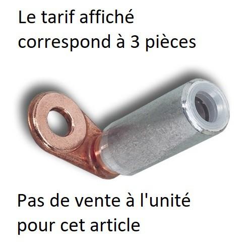 Cosse Q1AU 95² Plage 1 trou diamètre 12,8 mm prix pour 3 unités