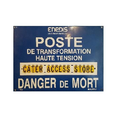 Affiche Poste Haute Tension 1 x Ligne S80ALPR10
