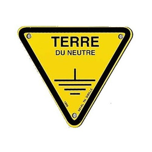 Affiche Triangle Terre du Neutre S81ALTN-100