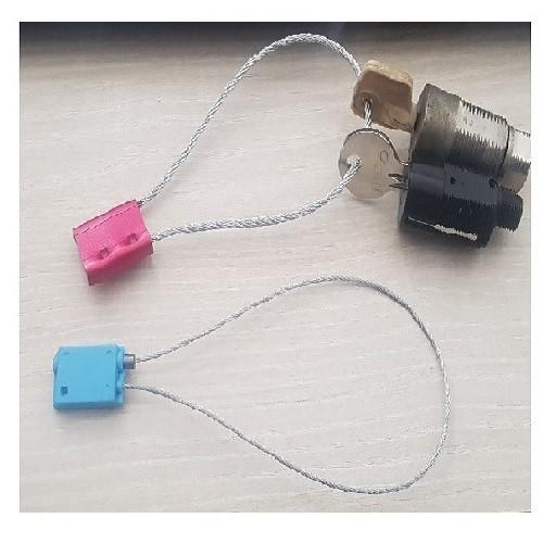 Anneau indémontable pour clé d'inter-verrouillage (couleur rouge - ex-anneau soudé)
