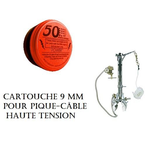 CARTOUCHE 9mm pour pique câble MP-213
