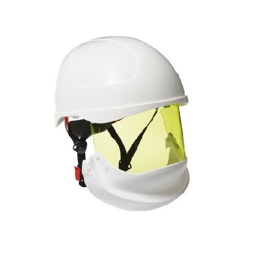 Casque ARC-FLASH TC402B Classe 2 Coloris Blanc Obsolescence 4 ans