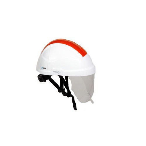 Casque Electricien TC42ESBB avec Ecran Faciale E-SHARK Coloris Blanc