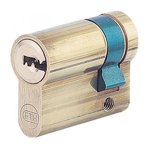 Demi-Cylindre IFE boîte à clé en applique + 2 clés