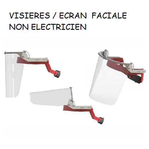 E29H RÉGLABLE - Ecran faciale anti-propagation maladie infectieuse
