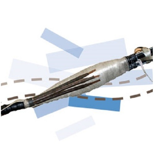 JTR3 RSM 50-240² Alu-Cu Tripolaire à serrage mécanique