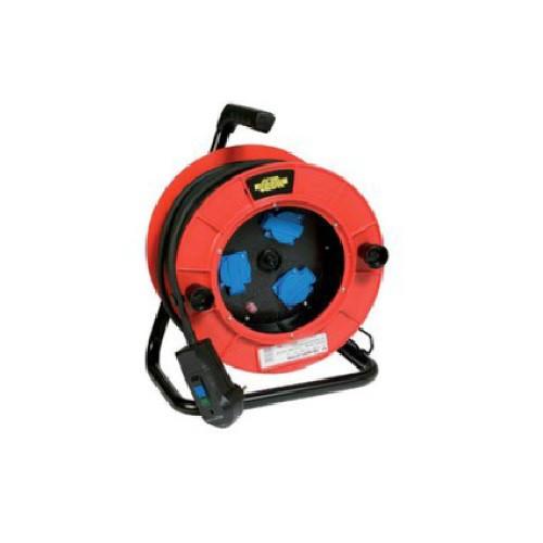 Prolongateur 25 ml avec disjoncteur thermique et différenciel 16A