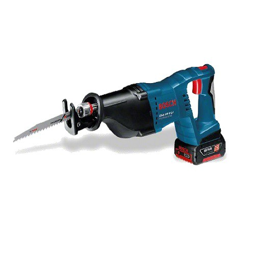 Scie Sabre 18 Volts + Coffret + 2 Batteries + Chargeur