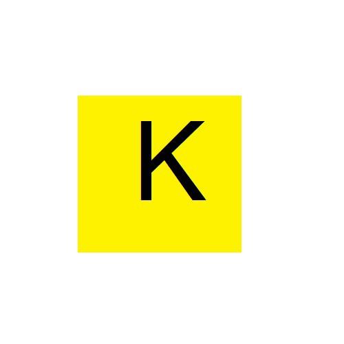 Vignette lettre K pour Pancarte Enédis